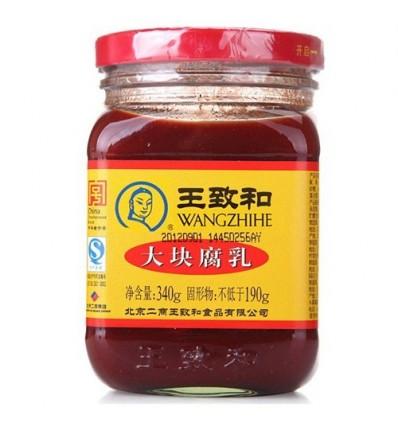 王致和大块腐乳 Fermented bean curd 340g