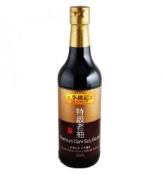 李锦记特级老抽500ml soy-bean sauce 酿造酱油