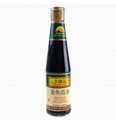 李锦记蒸鱼豉油410ml soy-bean sauce 酿造酱油