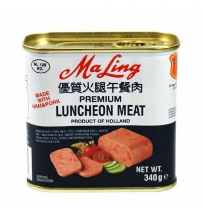 梅林优质火腿午餐肉罐头 fried lunchoen meat 340g