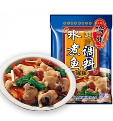 桥头牌水煮鱼调料 麻辣味 Qiaotou Fish Spice 150g
