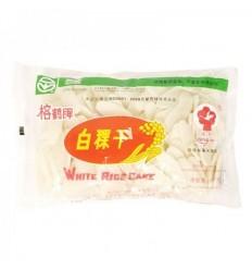 榕鹤牌白稞干 dry rice cake400g