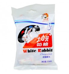 大包大白兔奶糖 White Rabbit Candy 180g