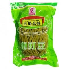 巴蜀幺妹泡豇豆 Preserved Beans 1000g