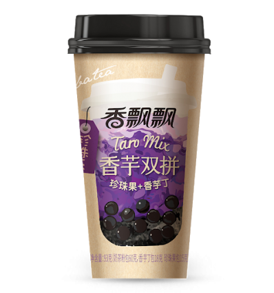 香飘飘*豆乳双拼*珍珠果+高原青稞 85g milk tea