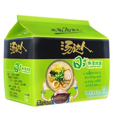 (5连包)汤达人*日式豚骨拉面 125g*5 noodles
